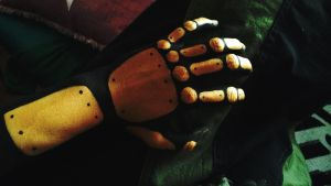 Steampunk Hand by PetrolTail