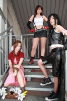 Final Fantasy VII - Girls by AerithStrife90