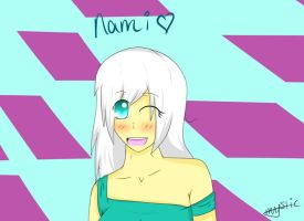 2nd Generation Doodle: Nami by MysticAzelf