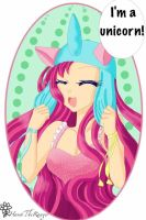Pinkie pie is a unicorn by therealhanatheranger