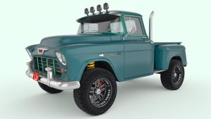 1955 Chevrolet 3100 Pickup by SamCurry