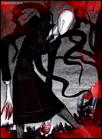 Fear the Slenderwoman by Cageyshick05