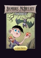 Damious McDreary Book Cover (Dark) by Bloodzilla-Billy