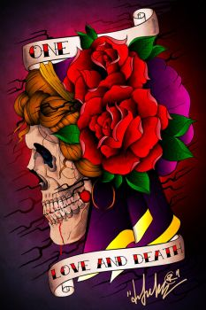 ONE LOVE and DEATH by DZNFlavour