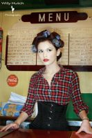 Rockabilly set- behind the bar by InnocencelostxX