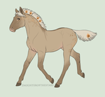 1298 Foal Design by Cloudrunner64
