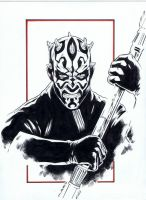 Darth Maul by jasonbaroody