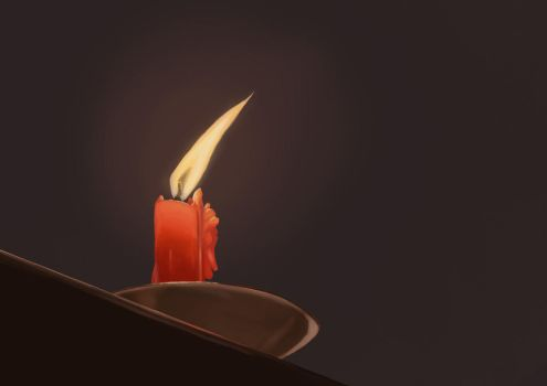 Candle Study by Lynarc