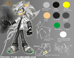 REFERENCE:: Afoid the hedgehog by SpyxedDemon