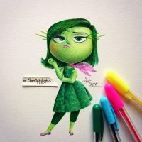 Disgust by samiahdagher