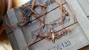 Forest Fairy necklace by LepidusPlasmatio