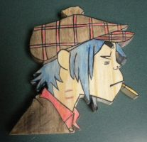 2D Demon Days album ver. -wood by 23-hour-party-people