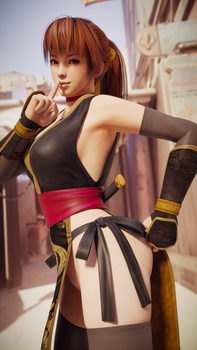 Kasumi Sneak Peek by Chrissy-Tee