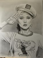 Debbie Harry from Blondie by MrEyeCandy66