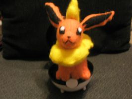 Flareon Plush by Vulpes-Canis