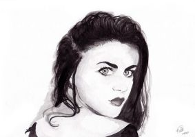 Frances Bean by m0uthshut