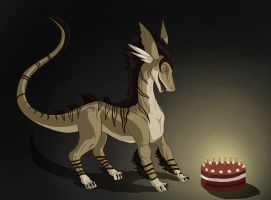 Cake for Fang by Aerophoinix