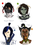 [OPEN 4/4] HEADSHOT ADOPTS (SET PRICES/OPTIONS) by Pharos-Chan