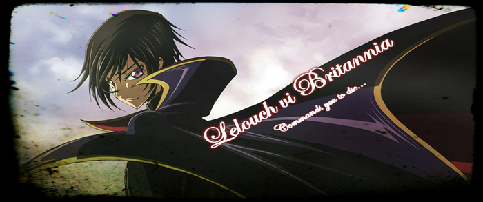 Lelouch Timeline cover by Lorkar
