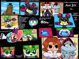 Lolita Fighter 4! Nopal Vs. Amy Jinx - Parte 1 by Coonstito