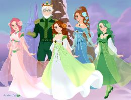 Snow Queen Scene Maker: Oz: Ozian Royalty by Saphari