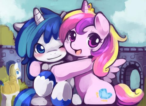 Childhood sweetheart 2 by Ende26