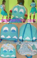 Pac Man Ghostie BackPack by starfaerie