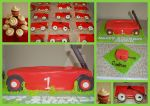 Little Red Wagon Cake by JanJL