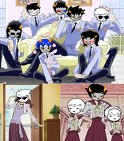 Ouran High School Homestuck by TheCupcakeNerd