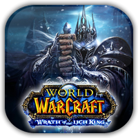 WoW Lich King Game Icon by Wolfangraul