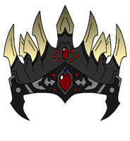 The Black Thorn Crown by NeonBlacklightTH