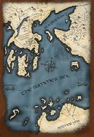 Lands of the Summer Sea Map by rmp135