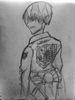 Captain Levi sketch by nicoflare
