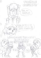 Mini-Comic - Terrible Confesion by JCMX