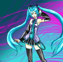 Miku's here for ya by 18j