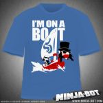 I'M ON A BOAT T-Shirt Design by StacMaster-S
