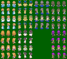 Harvest Moon sprites project by 4Wendy