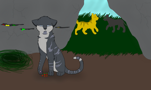 Jaypaw's seperate way by ThornHeart135