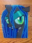 {Perler} Queen Chrysalis Headshot by OddishCrafts