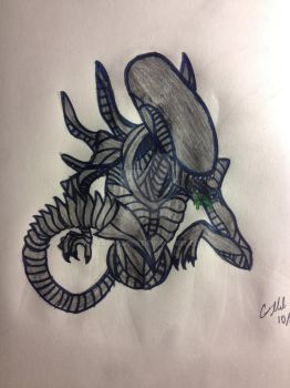 Xenomorph from ALIEN by DarthGaber