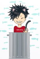 Trash cat by kurobas