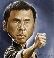 DONNIE YEN (YIP MAN) by JaumeCullell