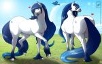 Horse OC Profile Jade Sapphire complete by wsache007