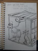 Dr Seuss - In a box with a fox by Scream-Deafening