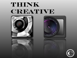 Think Creative by phantommenace2020