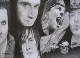 Avenged Sevenfold by Roozke112