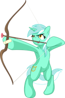 Lyra the Archer by EmberFiremane