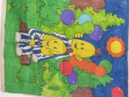 BANANAS IN PYJAMAS by lilmisslinze