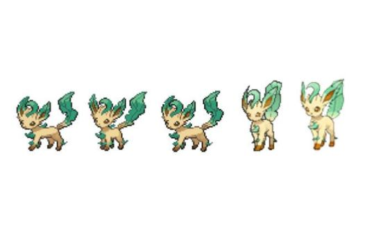 Leafeon Timeline by chigger3
