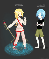 PiStory - Schnee and Ai by neonspider